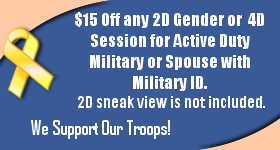 $20 Off All Packages for Active Duty Military or Spouse with Military ID. We Support Our Troops.
